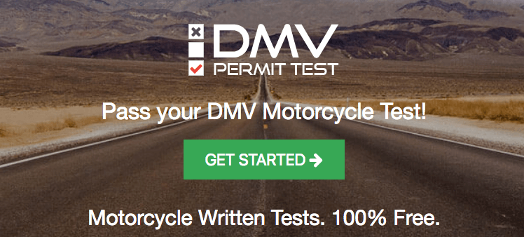 DMV Motorcycle Permit Tests